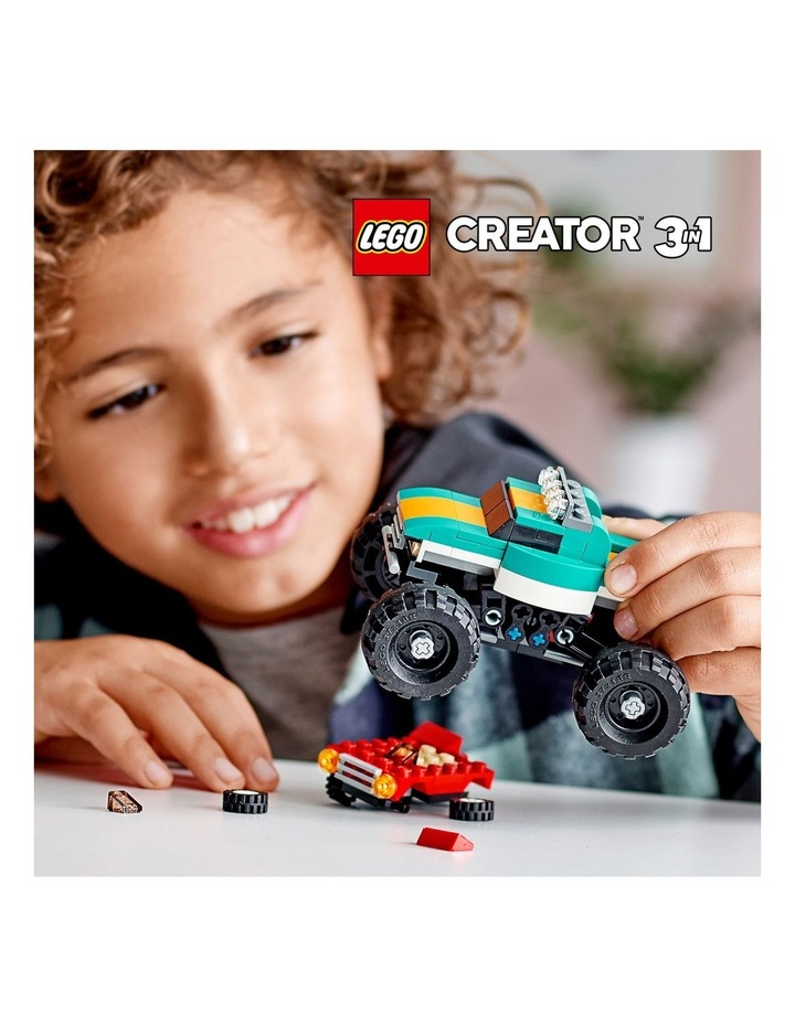 Creator 3in1 Monster Truck Toy 31101 image 3
