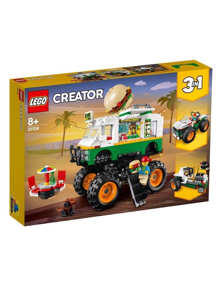 Creator 3in1 Monster Burger Truck  31104 image 1