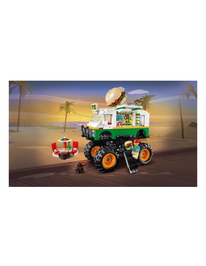 Creator 3in1 Monster Burger Truck  31104 image 4