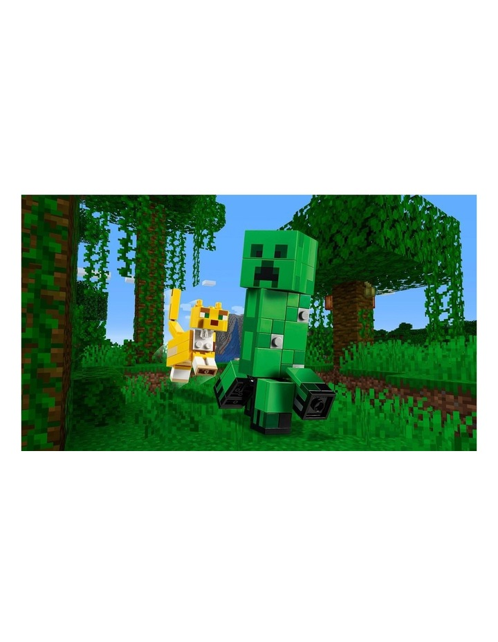 Minecraft Creeper BigFig and Ocelot Characters 21156 image 4