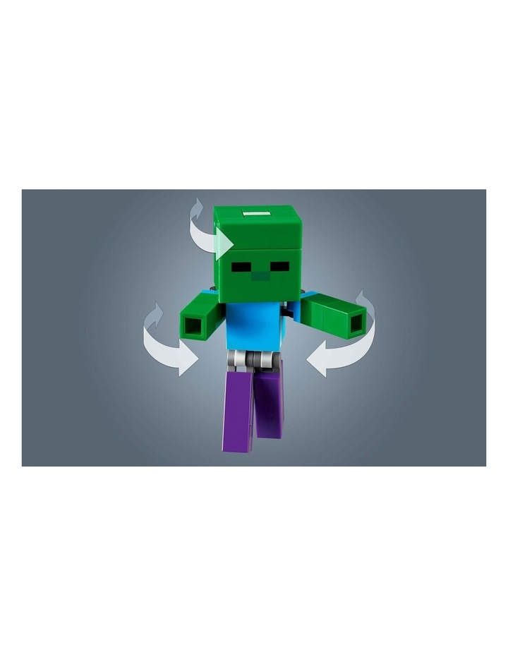 Minecraft Pig BigFig and Baby Zombie Character 21157 image 6