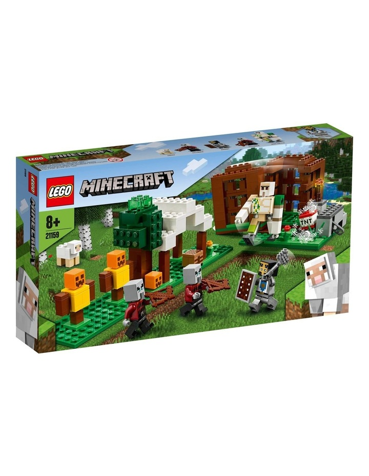 Minecraft The Pillager Outpost 21159 image 1