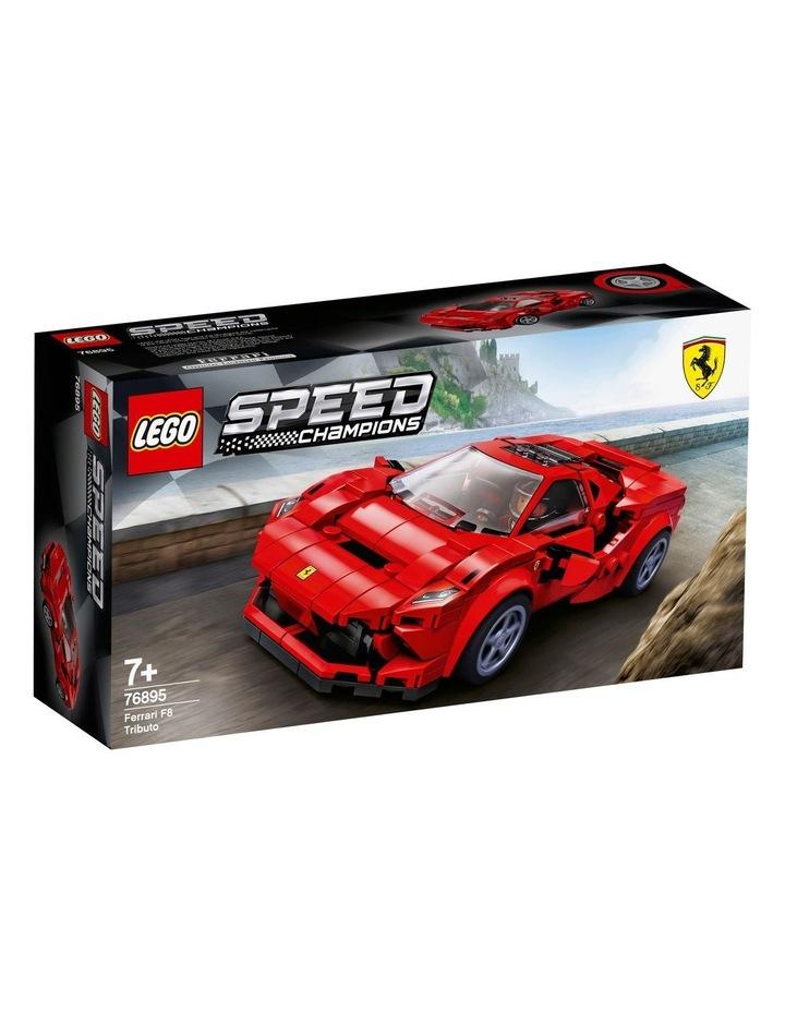 Speed Champions Ferrari F8 Tributo 76895 image 1