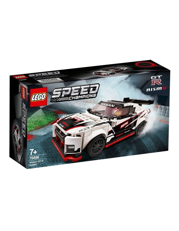Speed Champions Nissan GT-R NISMO 76896 image 1