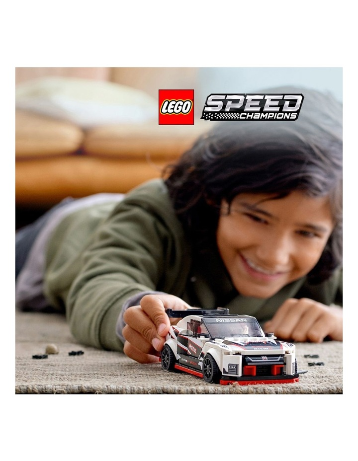 Speed Champions Nissan GT-R NISMO 76896 image 3