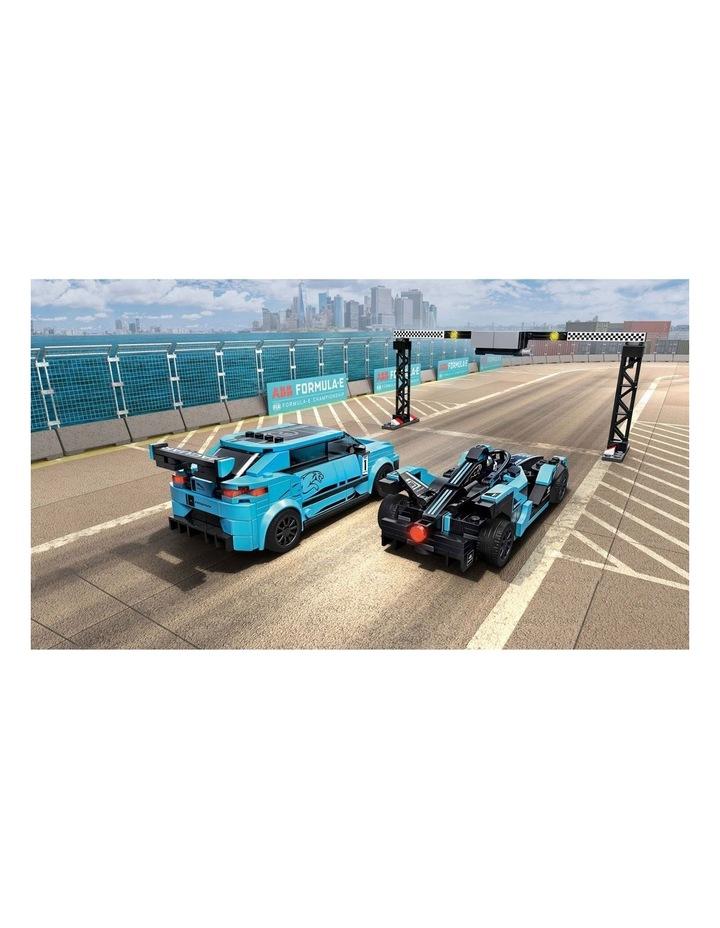 Speed Champions Formula E Panasonic Jaguar Racing Gen2 car & Jaguar I-PACE eTROPHY 76898 image 5