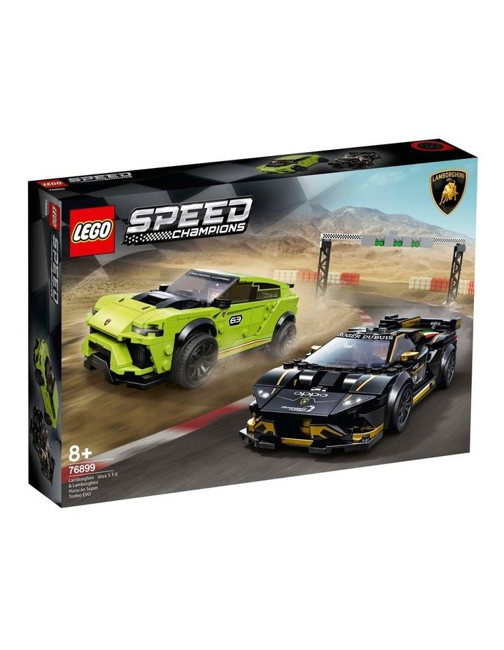 Speed Champions Lamborghini Urus ST-X and Lamborghini Huracn Super Trofeo EVO 76899 image 1