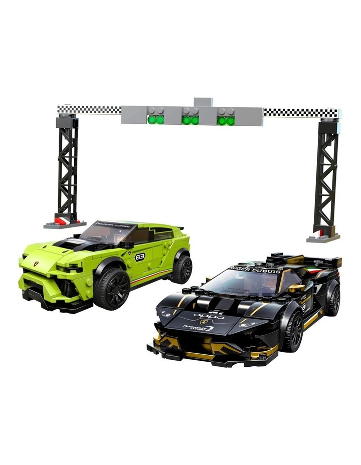 Speed Champions Lamborghini Urus ST-X and Lamborghini Huracn Super Trofeo EVO 76899 image 2