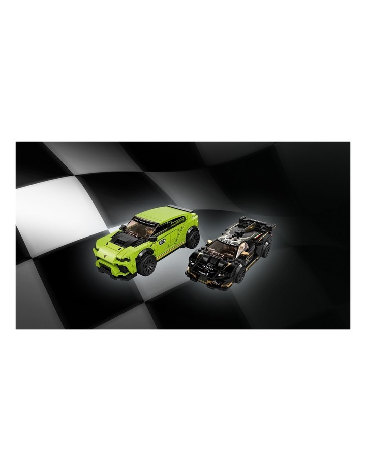 Speed Champions Lamborghini Urus ST-X and Lamborghini Huracn Super Trofeo EVO 76899 image 4