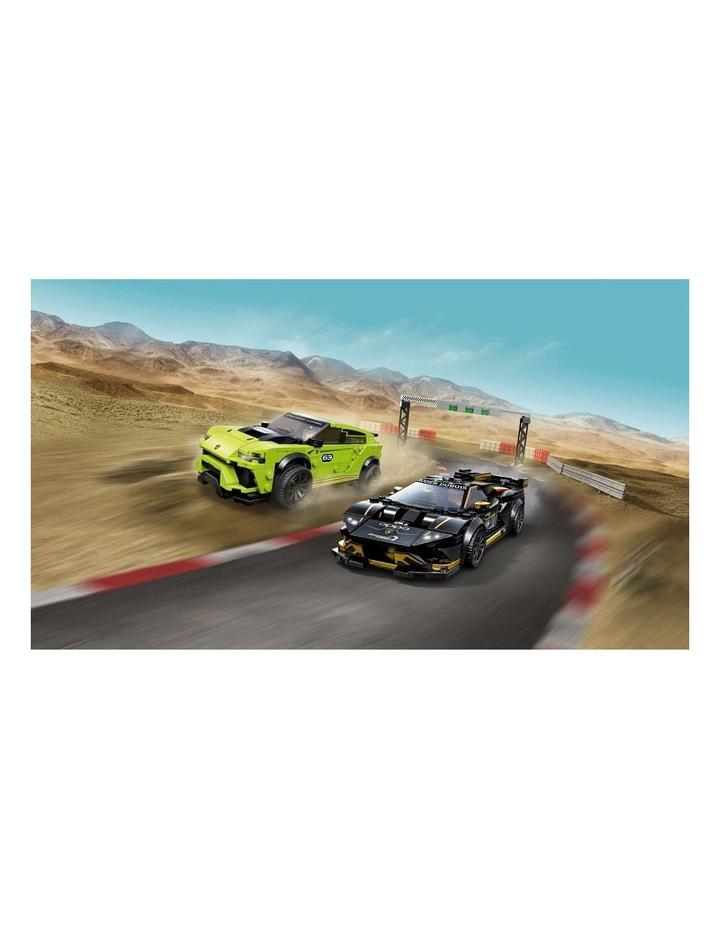 Speed Champions Lamborghini Urus ST-X and Lamborghini Huracn Super Trofeo EVO 76899 image 5