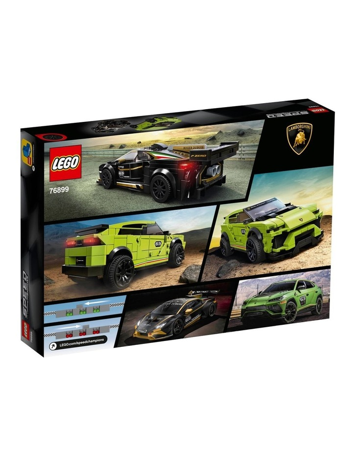 Speed Champions Lamborghini Urus ST-X and Lamborghini Huracn Super Trofeo EVO 76899 image 7