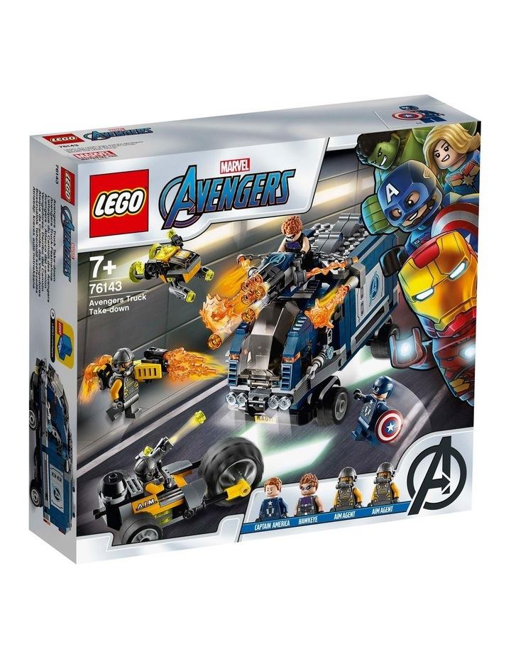 Marvel Avengers Truck Take-Down 76143 image 1