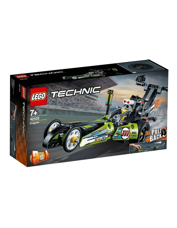 Technic Dragster 42103 image 1