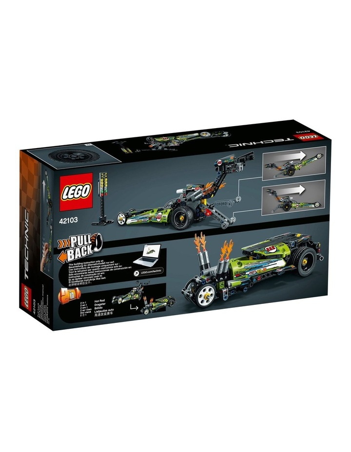 Technic Dragster 42103 image 7