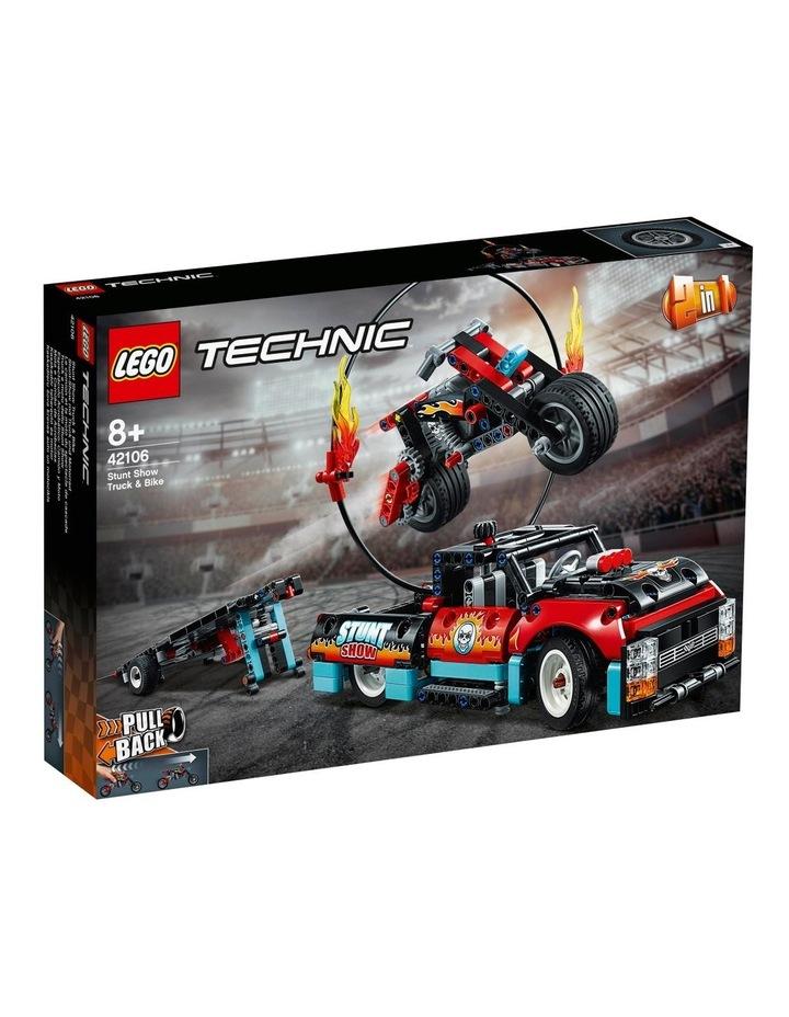 Technic Stunt Show Truck & Bike 42106 image 1