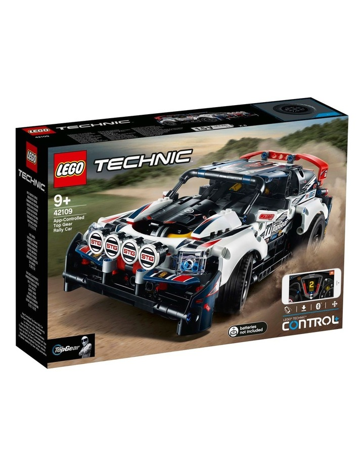 Technic App-Controlled Top Gear Rally Car 42109 image 1