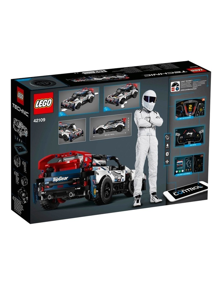 Technic App-Controlled Top Gear Rally Car 42109 image 7