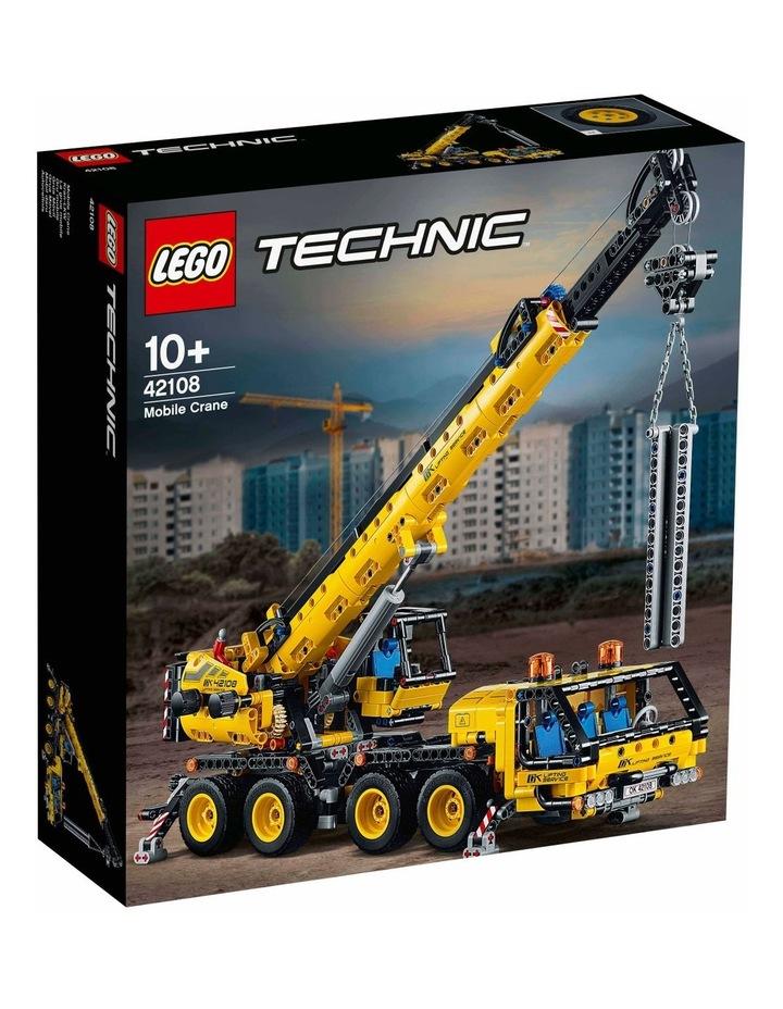Technic Mobile Crane 42108 image 1