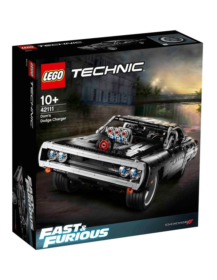 Technic Dom's Dodge Charger 42111 image 1