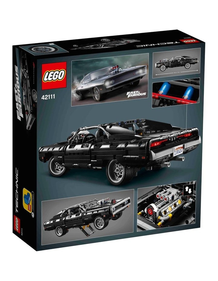 Technic Dom's Dodge Charger 42111 image 7