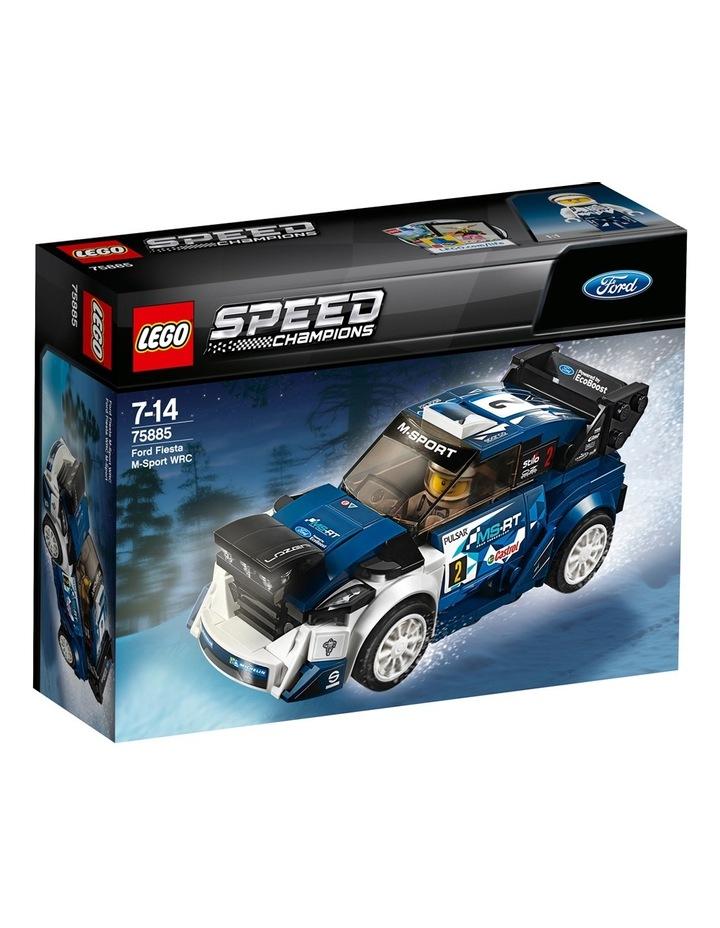 Speed Champions Ford Fiesta M-Sport WRC 75885 image 1