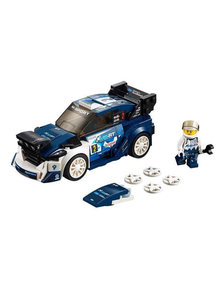 Speed Champions Ford Fiesta M-Sport WRC 75885 image 2