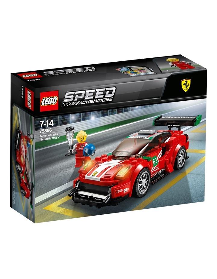 """Speed Champions Ferrari 488 GT3 Scuderia Corsa"""" 75886 image 1"""