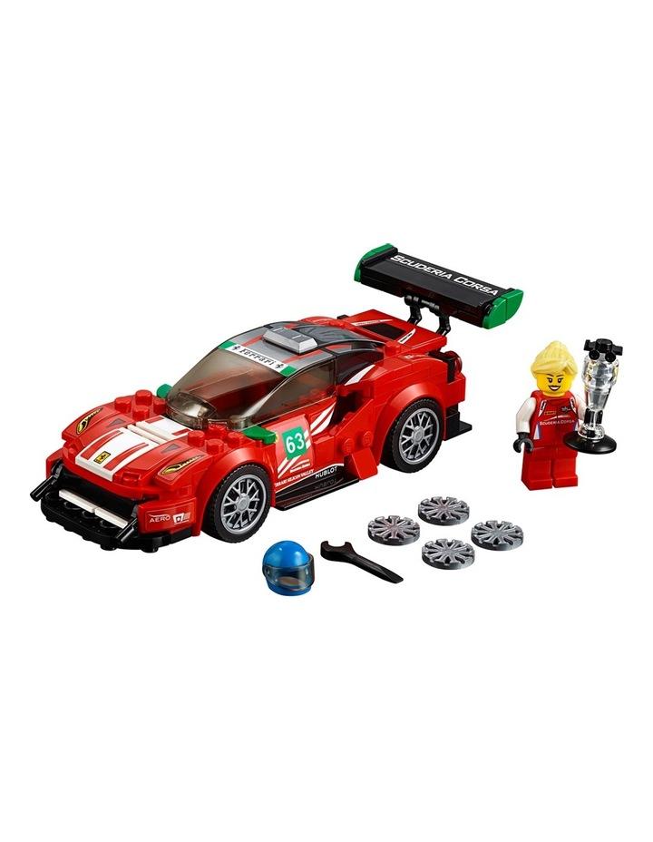 """Speed Champions Ferrari 488 GT3 Scuderia Corsa"""" 75886 image 2"""