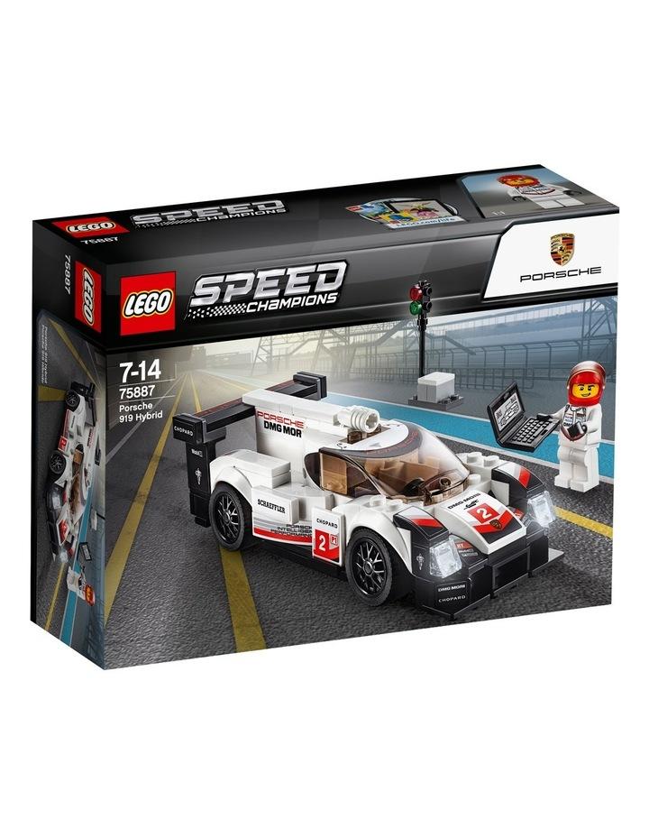 Speed Champions Porsche 919 Hybrid 75887 image 1