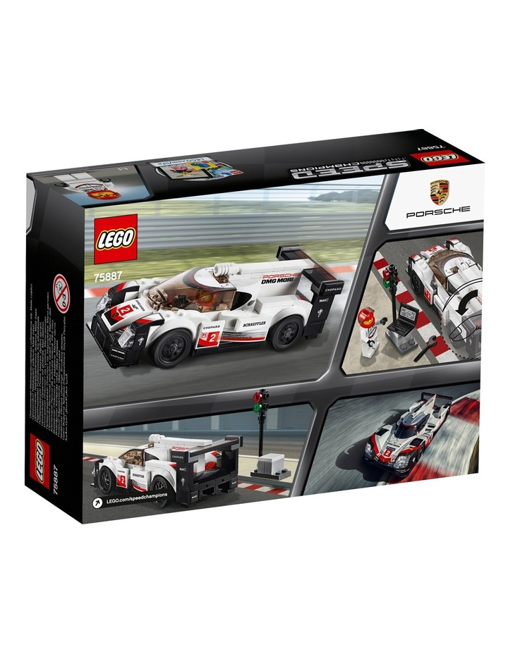 Speed Champions Porsche 919 Hybrid 75887 image 3