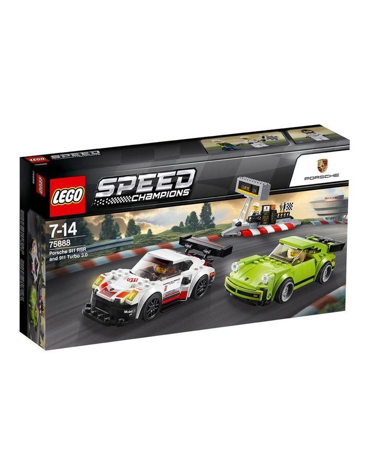 Speed Champions Porsche 911 RSR & 911 TURBO 3.0 75888 image 1