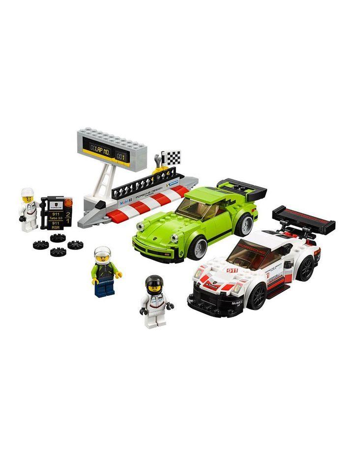 Speed Champions Porsche 911 RSR & 911 TURBO 3.0 75888 image 2