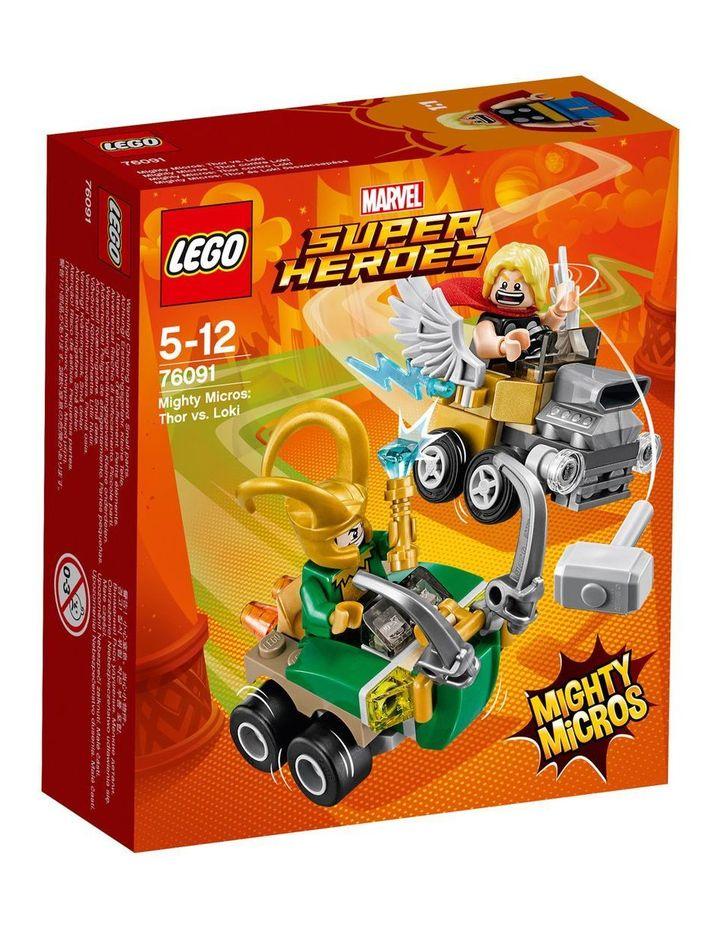 Mighty Micros: Thor vs. Loki 76091 image 1