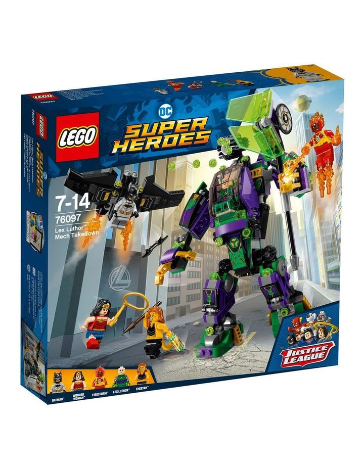 Lex Luthor Mech Takedown 76097 image 1
