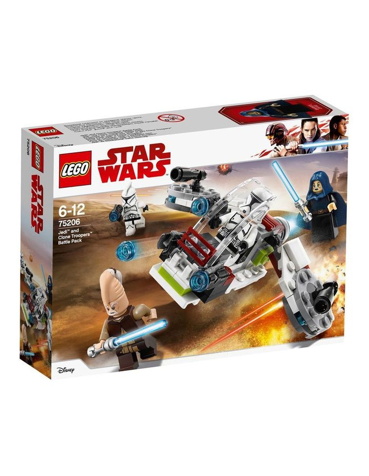 Star Wars Jedi and Clone Troopers Battle Pack 75206 image 1