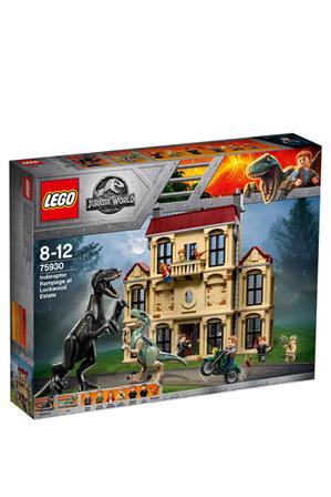 LEGO - Jurassic World Indoraptor Rampage At Lockwood Estate