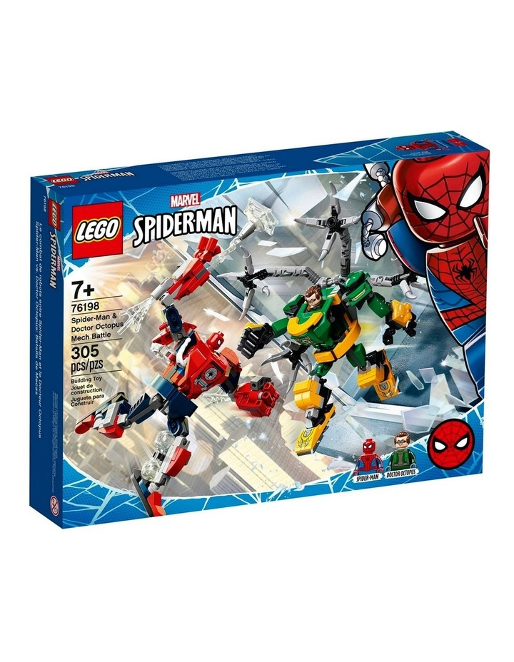 Marvel Spider-Man: Spider-Man & Doctor Octopus Mech Battle 76198 image 1