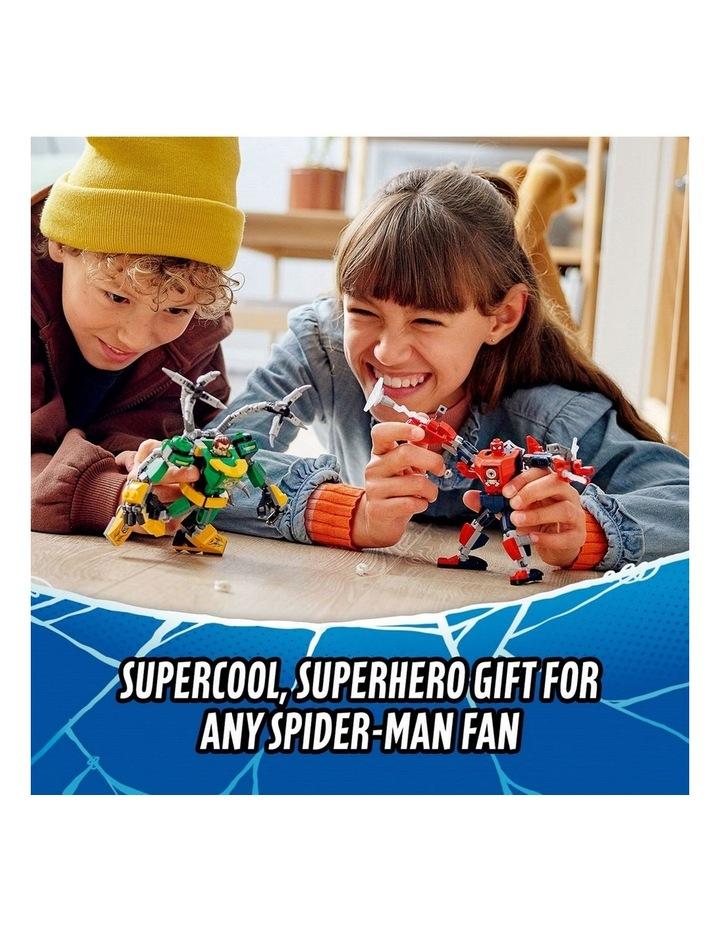 Marvel Spider-Man: Spider-Man & Doctor Octopus Mech Battle 76198 image 2
