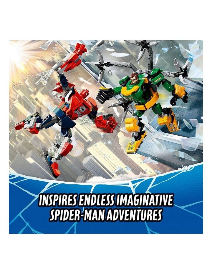 Marvel Spider-Man: Spider-Man & Doctor Octopus Mech Battle 76198 image 5