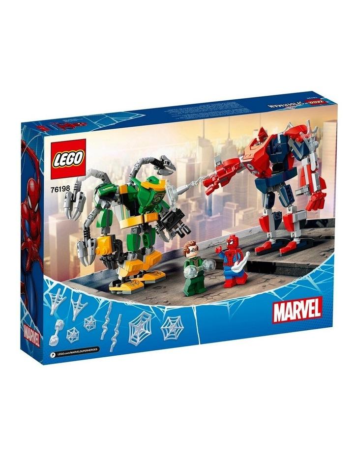 Marvel Spider-Man: Spider-Man & Doctor Octopus Mech Battle 76198 image 7