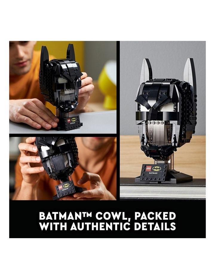 DC Batman: Batman Cowl 76182 image 3