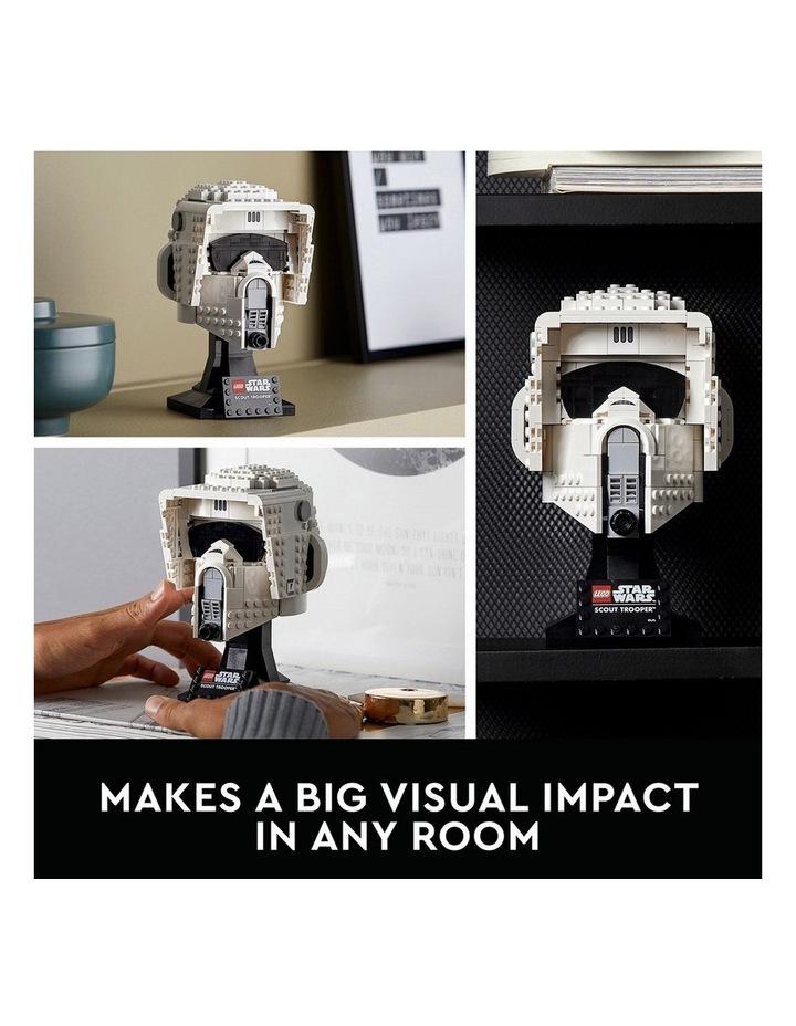 Star Wars Scout Trooper Helmet 75305 image 3