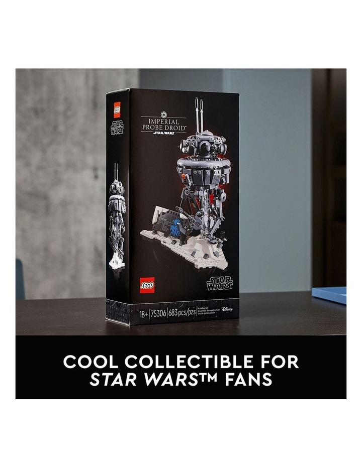 Star Wars Imperial Probe Droid 75306 image 6