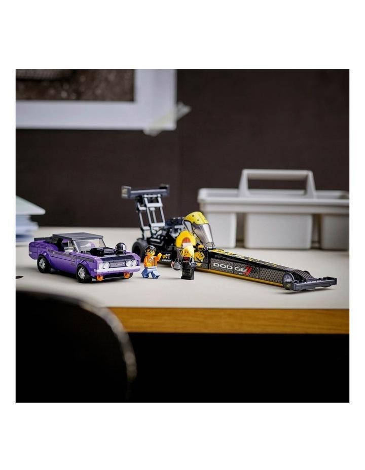 Speed Champions Mopar Dodge//SRT Top Fuel Dragster and 1970 Dodge Challenger T/A 76904 image 5