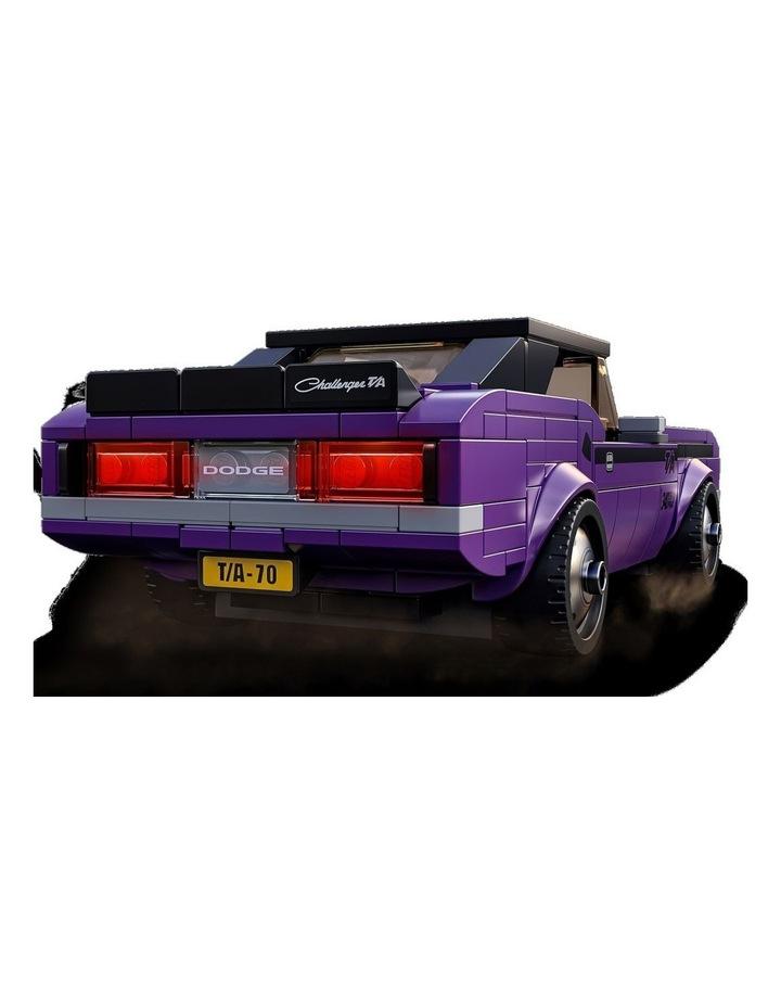 Speed Champions Mopar Dodge//SRT Top Fuel Dragster and 1970 Dodge Challenger T/A 76904 image 6