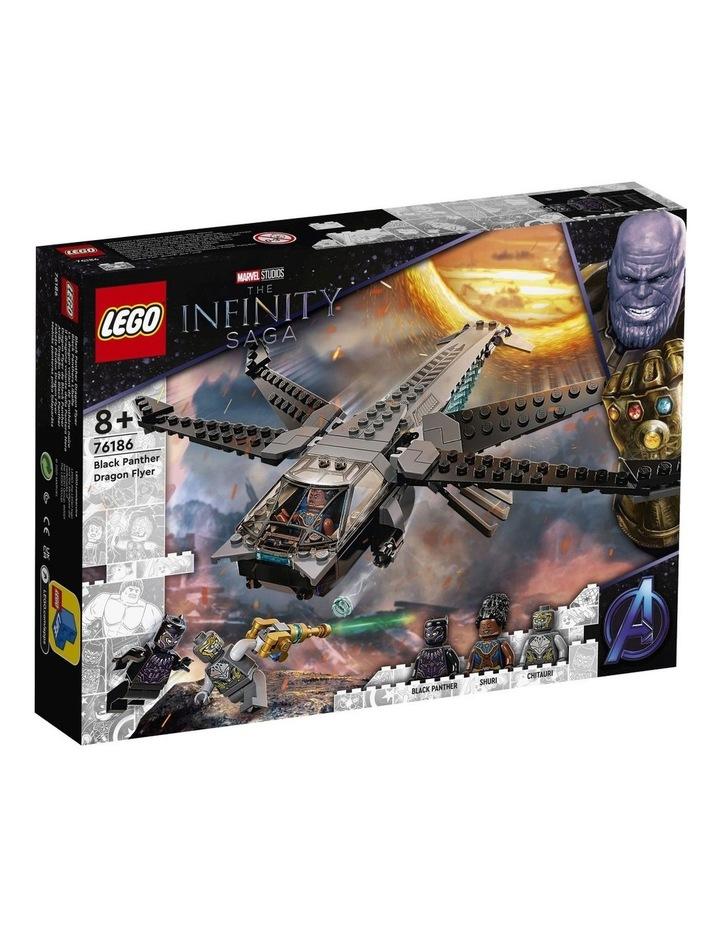 Marvel Black Panther Dragon Flyer 76186 image 1