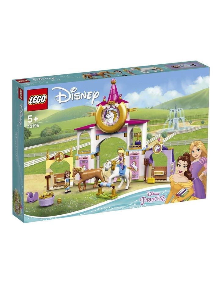 Disney Princess Belle and Rapunzel's Royal Stables 43195 image 1