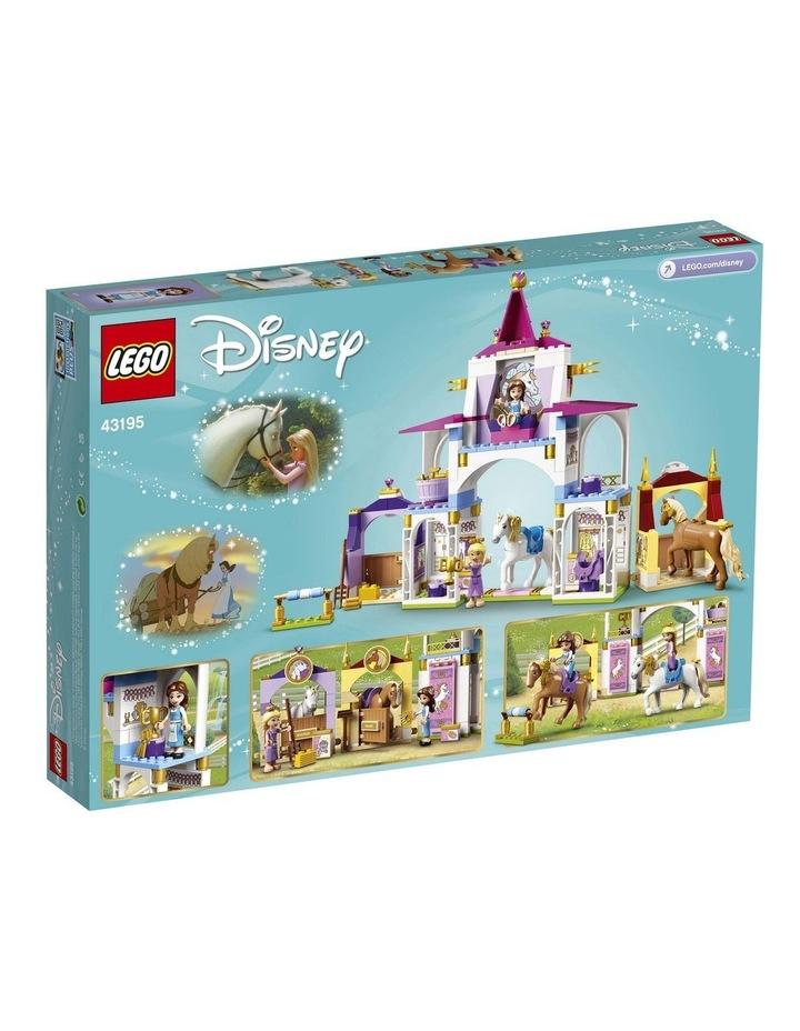Disney Princess Belle and Rapunzel's Royal Stables 43195 image 7