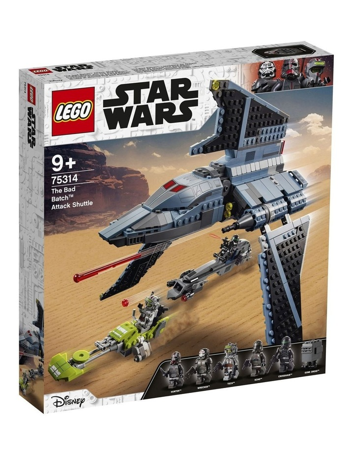 Clone Wars The Bad Batch Attack Shuttle 75314 image 1