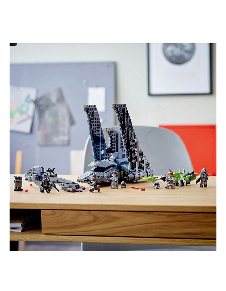 Clone Wars The Bad Batch Attack Shuttle 75314 image 3